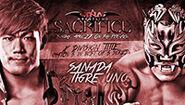 Sacrifice 2014 Sanada v Uno