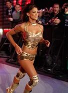 Eve Torres @ Royal Rumble 2011