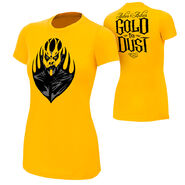 Goldust Ashes To Ashes Gold Women's T-Shirt