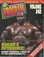 WWF Wrestling Program - Volume 242