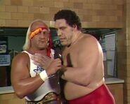 Andre the Giant & Hulk Hogan