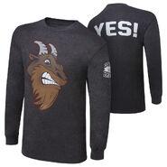 Daniel Bryan Goat Face Long Sleeve T-Shirt