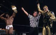 Booker T and Goldust Tag Team Champions Armageddon 02