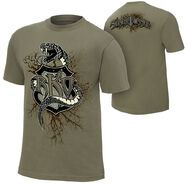 Randy Orton Recoiled Reloaded Authentic T-Shirt