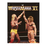 WrestleMania VI The Ultimate Challenge Acrylic Wall Art