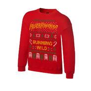 Hulk Hogan Ugly Holiday Sweatshirt