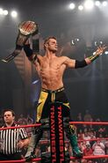 Shelley as the TNA X Division Champion