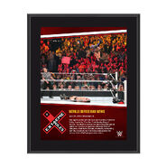 Neville Extreme Rules 10 x 13 Photo Collage Plaque