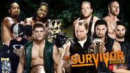 SS 2013 Ten Man Tag Team Elimination Match