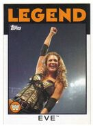 2016 WWE Heritage Wrestling Cards (Topps) Eve 82