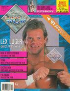 WCW Magazine - March 1992