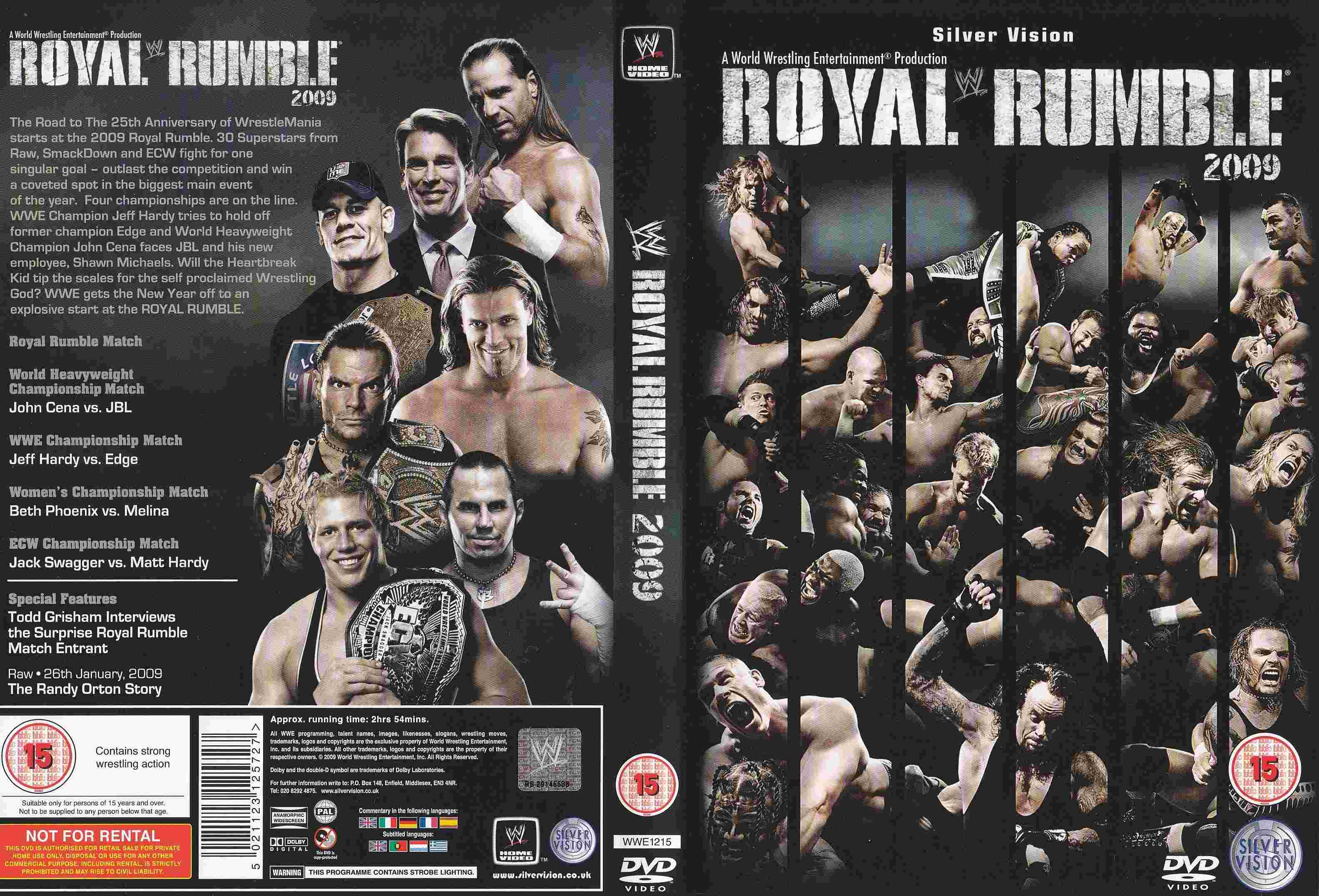 Image result for royal rumble 2009