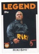 2016 WWE Heritage Wrestling Cards (Topps) Rikishi 97