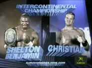 Shelton Benjamin vs Christian