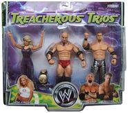 WWE Treacherous Trios 2 Trish Stratus, Tyson Tomko, & Christian