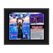 Roman Reigns WrestleMania 32 10 x 13 Photo Collage Plaque