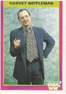 1995 WWF Wrestling Trading Cards (Merlin) Harvey Wippleman 42