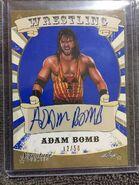 2016 Leaf Signature Series Wrestling Adam Bomb 2