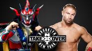 NXT Takeover VI - Jushin Thunder Liger v Tyler Breeze