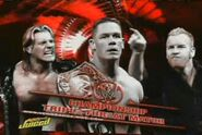 Chris Jericho vs John Cena vs Christian