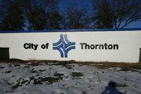Thornton, Colorado - City Sign