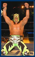 Ultimo Guerrero CMLL World Light Heavyweight