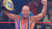 Kurt Angle wins TNA World Title over Sting