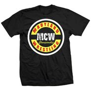 Maryland Championship Wrestling circle logo T-Shirt