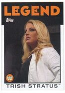 2016 WWE Heritage Wrestling Cards (Topps) Trish Stratus 102