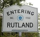Rutland, Massachusetts - Sign