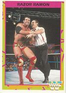 1995 WWF Wrestling Trading Cards (Merlin) Razor Ramon 152
