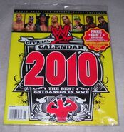 2010 Official WWE Magazine Calendar