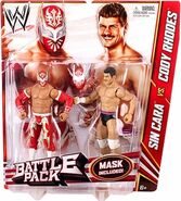 WWE Battle Packs 23 Sin Cara & Cody Rhodes
