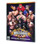 WrestleMania 30 Program