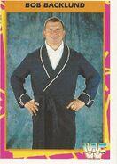 1995 WWF Wrestling Trading Cards (Merlin) Bob Backlund 22