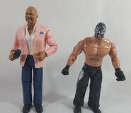 WWE Adrenaline Series 13 Teddy Long & Rey Mysterio