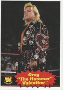 2012 WWE Heritage Trading Cards Greg Valentine 76