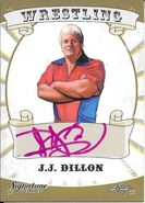 2016 Leaf Signature Series Wrestling J.J. Dillon 38