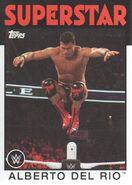 2016 WWE Heritage Wrestling Cards (Topps) Alberto Del Rio 2