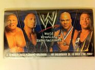 WWE Wrestling 2004, French Calendar