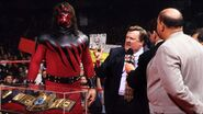 Kane's first day as wwf champion