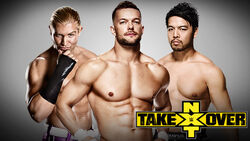 NXT Takerover V Triple Threat Match