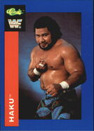 1991 WWF Classic Superstars Cards Haku 131