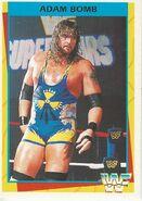 1995 WWF Wrestling Trading Cards (Merlin) Adam Bomb 55