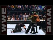 Matt and Jeff Hardy square off in the Royal Rumble Royal Rumble 2001