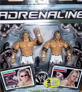 WWE Adrenaline Series 16 Johnny Nitro & Joey Mercury