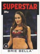 2016 WWE Heritage Wrestling Cards (Topps) Brie Bella 43