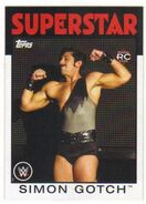 2016 WWE Heritage Wrestling Cards (Topps) Simon Gotch 70