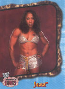 2002 WWE Absolute Divas (Fleer) Jazz 35