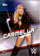2016 WWE Divas Revolution Wrestling (Topps) Carmella 18
